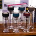 bouteille d'eau de verre de borosilicate de haute qualité de 350ml 450ml avec le filtre