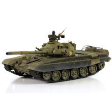 T72 Infravermelho de cor verde 1/24 RC tanque