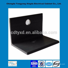 china direct factory top quality iso9001 oem custom black metal l bracket