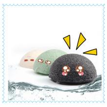 Konjac Flour Material Cosmetics Konjac Sponge with Box Package