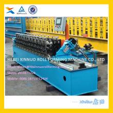 Rollo de poste de perfil Omega forma rollo de carril DIN que forma la máquina