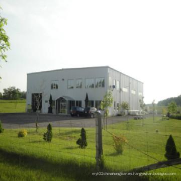 Estructura de acero prefabricada Almacén de oficina (KXD-SSB1403)