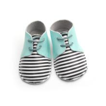 Chaussures de bébé à rayures Oxford en gros