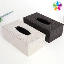 Boîte à tisser en PU rectangle haut de gamme (ZJH060)