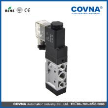 12V Controle de ar de 5/3 vias Válvula solenóide do atuador pneumático