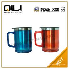 s/s and plastic 14oz coffee mug