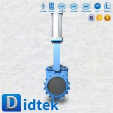 Didtek International Brand pneumatic knife gate valve