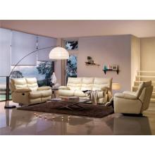 Sofá elétrico reclinável EUA L & P sofá do mecanismo para baixo do sofá (703 #)