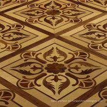 Azulejos de madera de la sala de dibujo