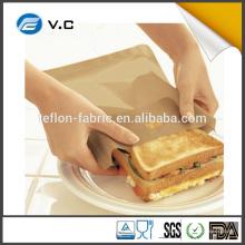 Waschbare Non-Stick-Wiederverwendbare, hitzebeständige Toaster-Beutel