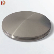 Hot sell pure round titanium sputtering target