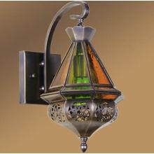 Wall Lamp Moroccan Brass Lantern (L1107-1S)