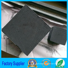 Cube Shape Activated Carbon Honeycomb for Mercury Removal