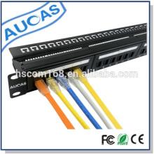 Aucas hochwertiges 24-Port-Utp-Patch-Panel