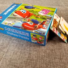 Impresión de juego de rompecabezas de cartón personalizado mini