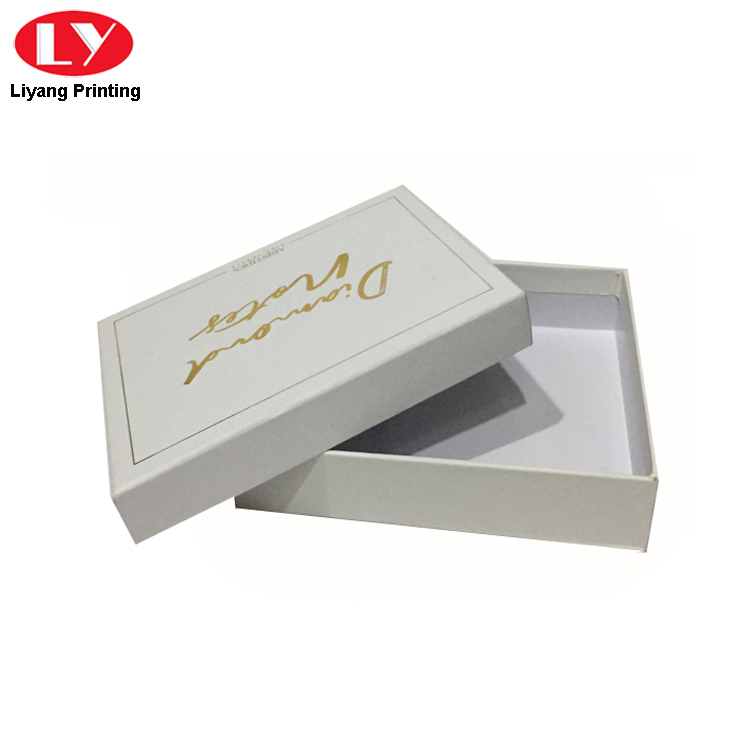 White Gift Box For Card