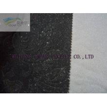 Flocado tejido de poliéster para la decoración en relieve