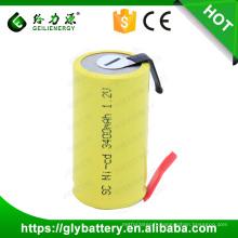 Geilienergy rechargeable ni-mh 1.2V 1800mah sous-c batterie