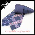 Reversible tejido seda modificado para requisitos particulares en la corbata promocional de la fábrica de 4 diseños