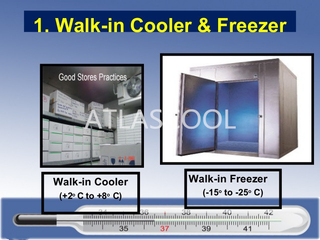 walk in coolers and freezers