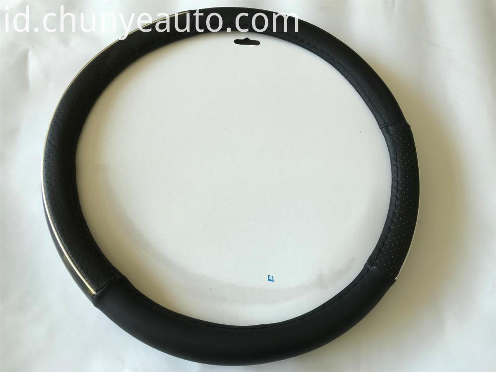 sliver bar steering wheel cover