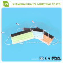 Hochwertige Einweg-Gesichtsmaske mit Augenschutz CE ISO FDA made in China