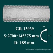 house decorative items high density polyurethane baseboard molding