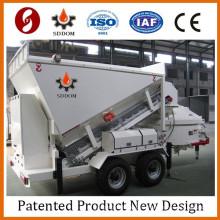 MB1800 small mobile concrete batch plant