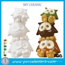 Cerámica al por mayor de las fuentes de cerámica de la porcelana de la porcelana de las mercancías de la muñeca de la porcelana no pintada