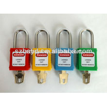 CE certification 304 stainless steel shackle lock out