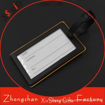 Promotion Custom Rectange Shape Soft PVC Luggage Tag