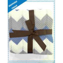 Lance da tampa de cama cobertor de lã