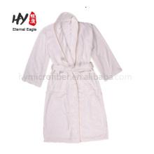 Мода с длинным рукавом удобный вафельные халаты халат