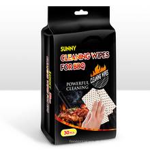 Clean Grease Desinfizing Bbq Wipes Coles