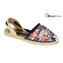 Women′s Casual Espadrille Flat Shoes