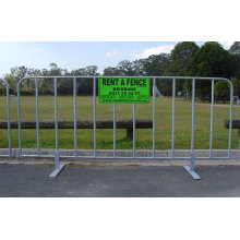 Concert Crowd Control Temporary Barriers for Sale