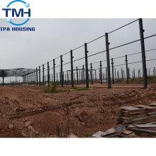taller de construcción de estructura de acero ligero de oriente medio