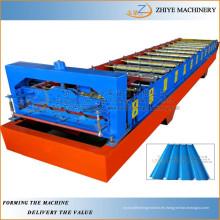 Rodillo de acero coloreado que forma la máquina / la pared y las hojas de la azotea laminación en frío máquina