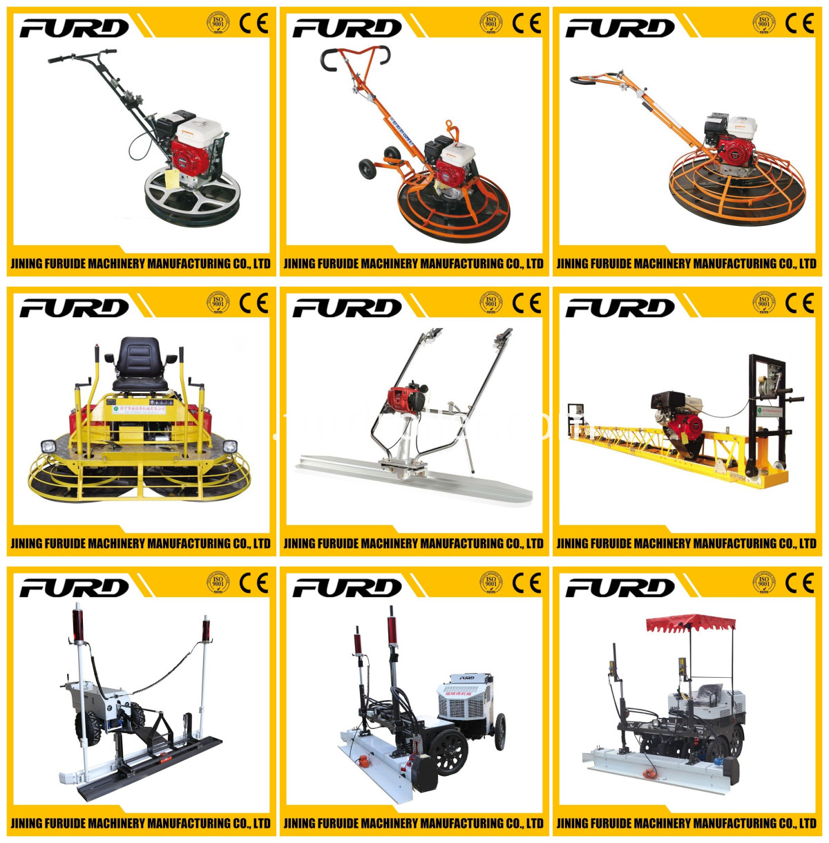 FURD concrete machines