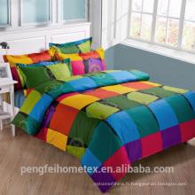 Tissu en microfibre polyester pour textile à la maison en vente
