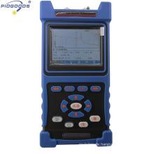 PG-1200B otdr Preis, Mini OTDR Preis für Optical mit 1310 / 1550nm bunten Bildschirm 32 / 30dB Dynamikbereich mit VFL China Anbieter