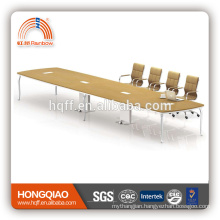 (MFC)HT-23-66 modern conference table stainless steel frame for 6.6M conference tables for sale