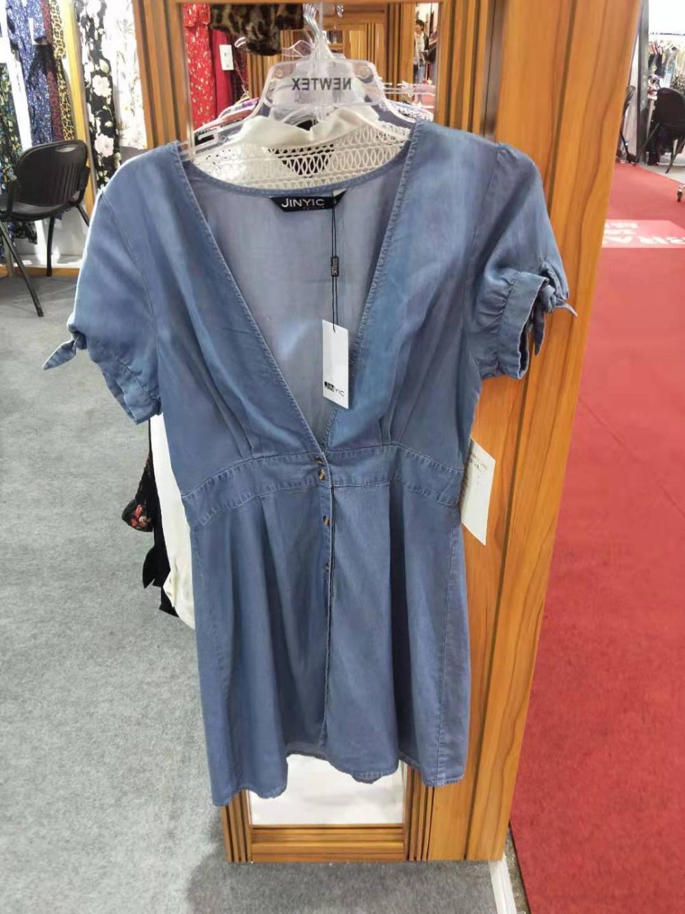 Summer Casual Denim Dress
