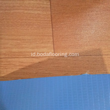 Matt Surface Wood warna pvc roll flooring