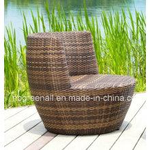 Patio de ocio al aire libre Rattan Mobiliario de jardín silla de mesa conjunto