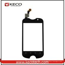 100% probado piezas de repuesto de teléfonos móviles negro de cristal de pantalla táctil para Fly IQ275