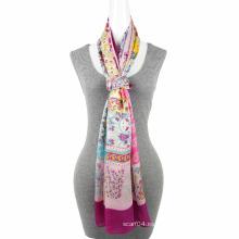 La bufanda de seda 100% de la nueva de la manera de la tendencia del poliester de la sensación cuadrada