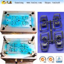 molde de injeção de peças de porta-chaves bicicleta elétrica material ABS