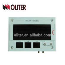 Indicador de temperatura de pirómetro indicador de temperatura de acero fundido analógico wk-200a montado en la pared para la industria de la fundición