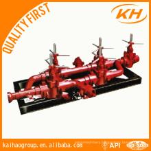 API Drilling Mud Manifold, choke manifold and kill manifold